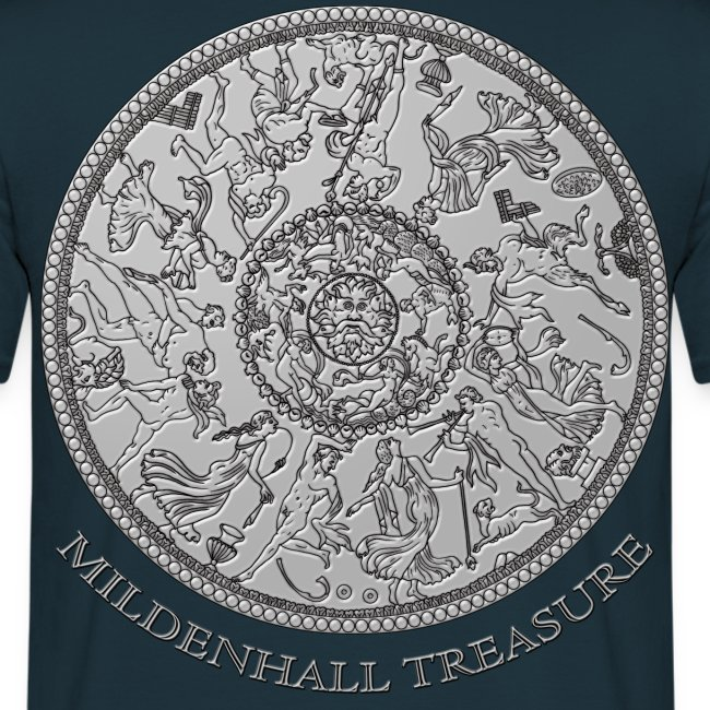 The Mildenhall Treasure Great Oceanus Dish