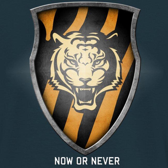 Tiger Plt Big Shield Whit
