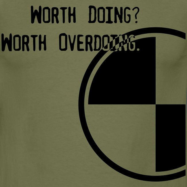 Anything worth doing.