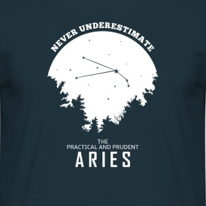 Aries Horoscope cadeau Zodiac - T-shirt Homme