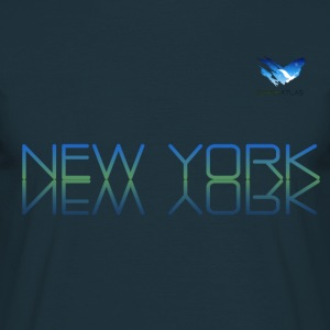 Space Atlas T-tröja New York - T-shirt herr