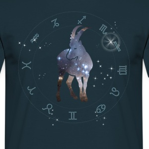 capricorn universe constellation astrology sternzeic - Men's T-Shirt
