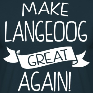 Make Langeoog great again - Men's T-Shirt