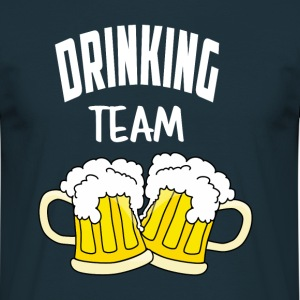 Drinking team - Men's T-Shirt