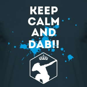 dab keepCalm dabbing touchdown football fun cool l - Männer T-Shirt