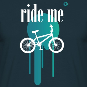 Bicycle bmx double irony allusion cool style - Men's T-Shirt