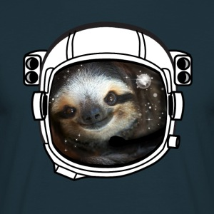 helm faultier Astronaut all star was leuk koel LOL - Mannen T-shirt