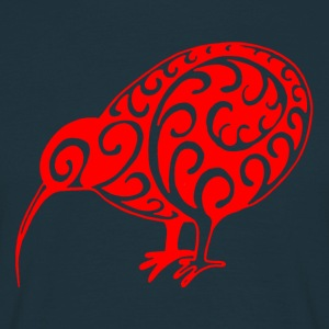 New Zealand: Kiwi in red - Men's T-Shirt