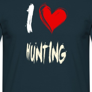 i love hunting - Männer T-Shirt