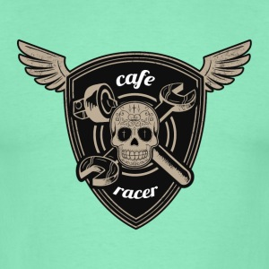 Cafe racer road race - T-skjorte for menn