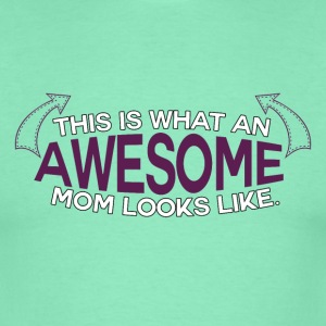 Mothers Day - Awesome mamma! - T-skjorte for menn