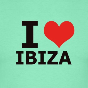 IBIZA I LOVE IBIZA - T-skjorte for menn