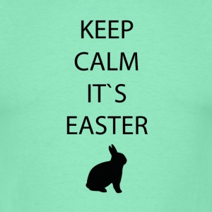 Easter Keep calm - Men's T-Shirt