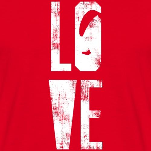 Love Paragliding - Männer T-Shirt