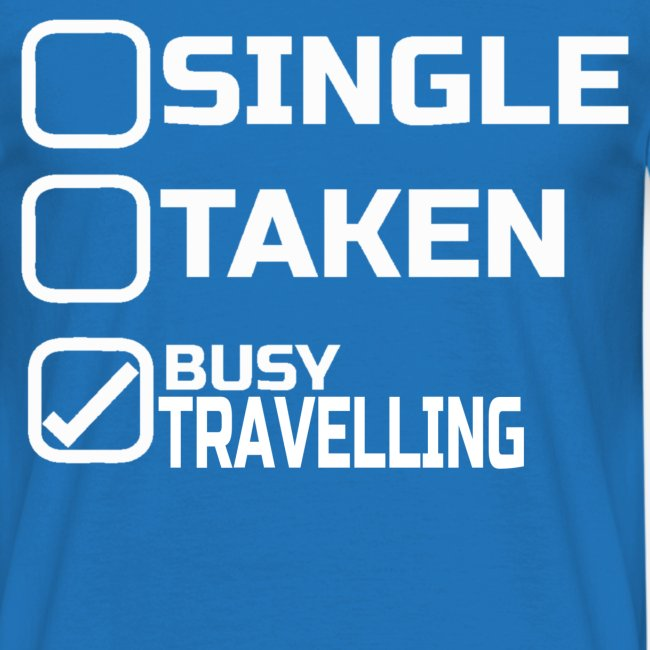 Busy travelling