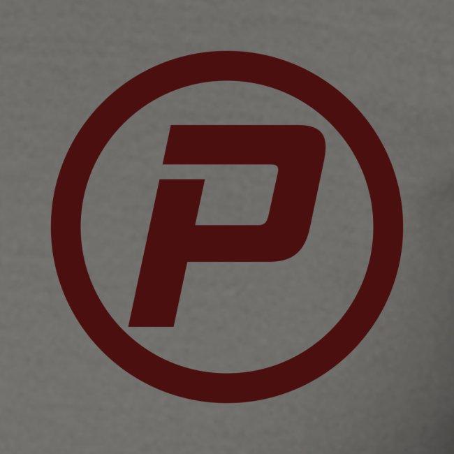 Polaroidz - Small Logo Crest   Burgundy