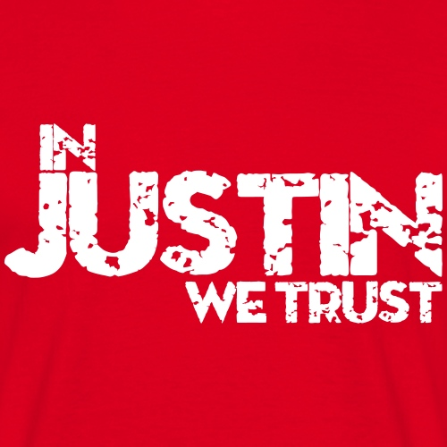 justin2 - Mannen T-shirt