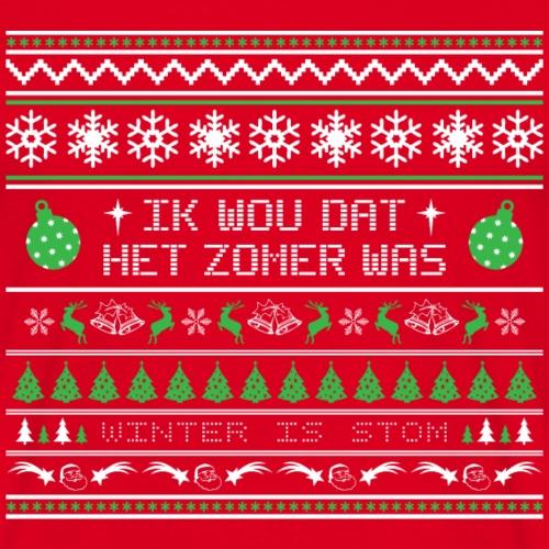 Kersttrui Zomer - Mannen T-shirt