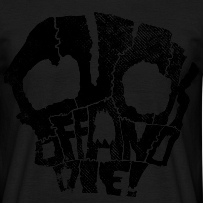 fuck off and die (black)