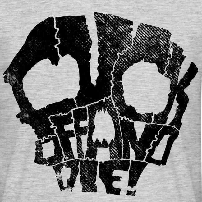 fuck off and die (black)