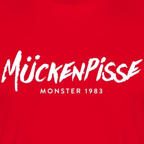 Mückenpisse 1983 - Männer T-Shirt