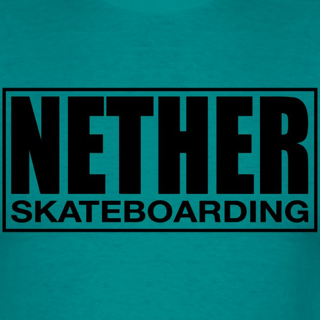 Nether Skateboarding T-shirt White
