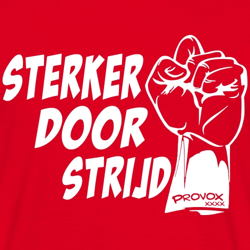 sterker - Mannen T-shirt