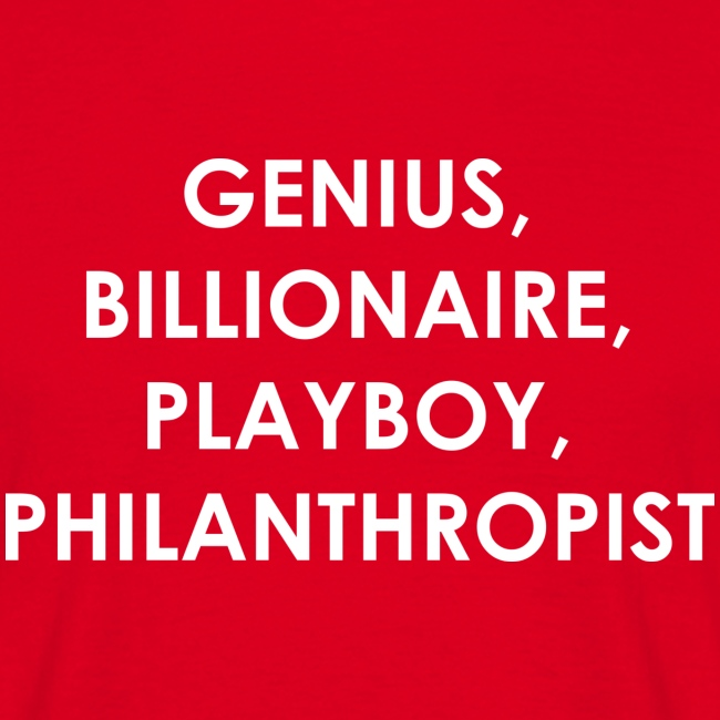 Genius Billionaire White
