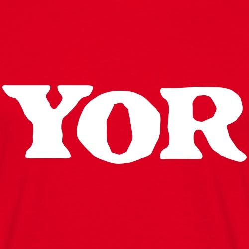 Yor - Mannen T-shirt