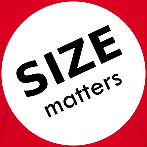 Size matters - Men's T-Shirt