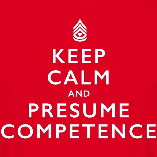 Presume Competence