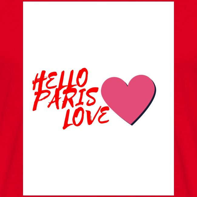 hello paris love rouge