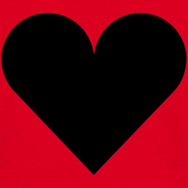heartplainblack