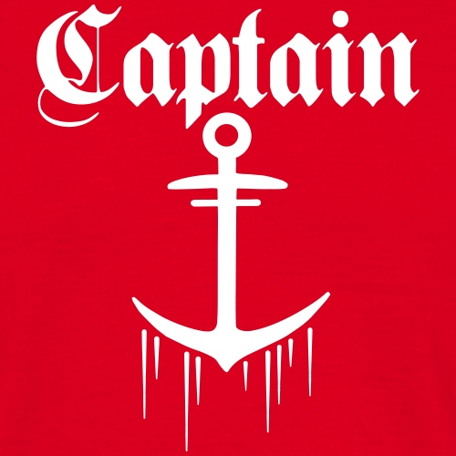 CAPTAIN - T-shirt herr