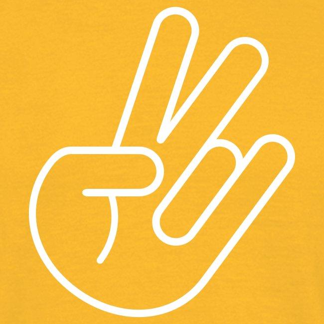 JDM Peace Hand (outline)