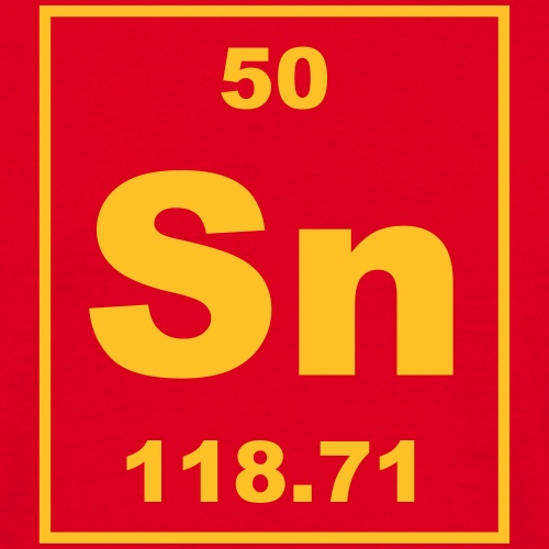 Tin (Sn) (element 50) - Men's T-Shirt