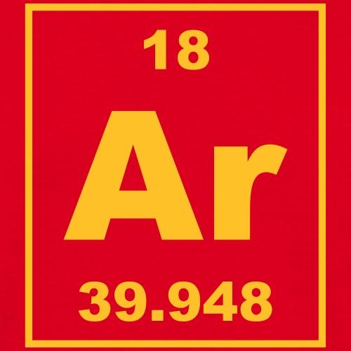 Argon (Ar) (element 18) - Men's T-Shirt