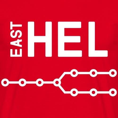 east-hel2 - Miesten t-paita