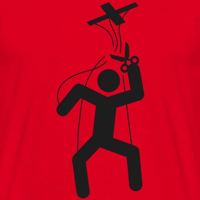 Motif marionnette à fil - Libérez-vous !