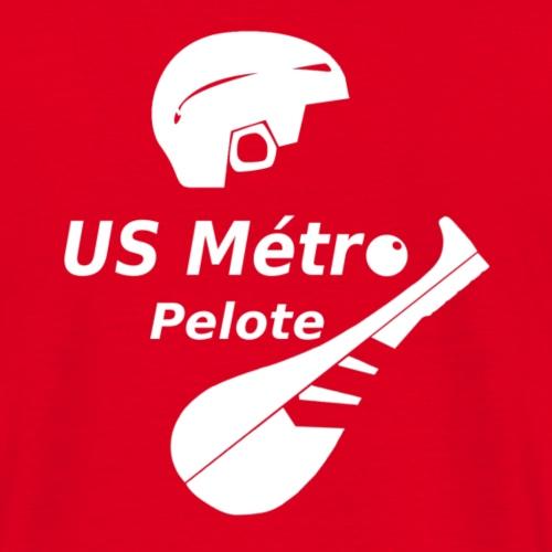 Logo MétroPeloteBalineetPalaV2018A png - T-shirt Homme