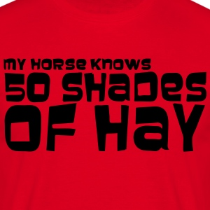 my_horse_knows_50_shades - T-shirt Homme