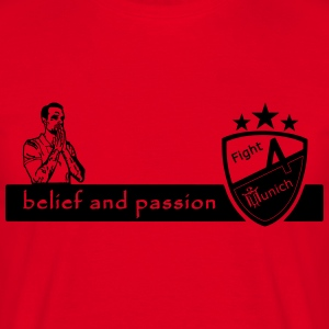 Fight 4 Munich - totaled and passion - Men's T-Shirt