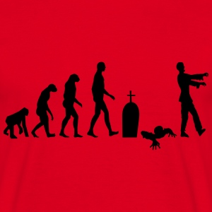 zombie evolution - T-shirt herr