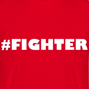 Fighter - Herre-T-shirt