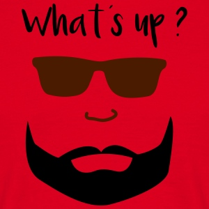 Bartmann whats up - T-shirt herr