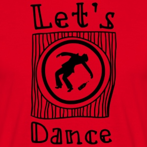 Let's Dance - Mannen T-shirt