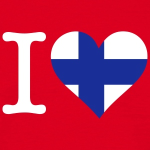 I Love Finland - Men's T-Shirt
