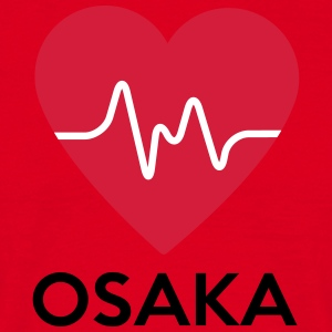 heart Osaka - Men's T-Shirt