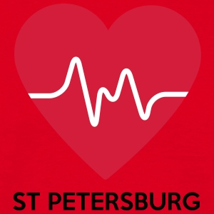 Heart St Petersburg - Herre-T-shirt