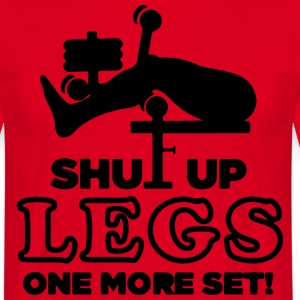 Give rest legs, only one set! - Men's T-Shirt